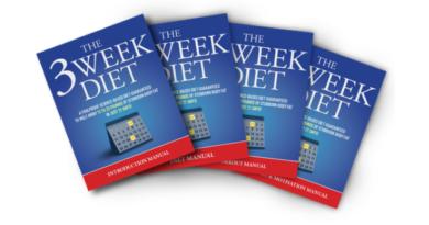 3 WEEK DIET SYSTEM