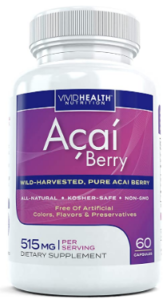 All Natural Acai Berry Capsules