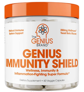 BEST IMMUNE SYSTEM BOOSTERS - GENIUS IMMUNITY SHIELD