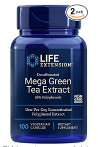 GREEN TEA EXTRACT LIFE EXTENSION