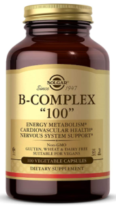 BEST VITAMIN B COMPLEX - SOLGAR 100